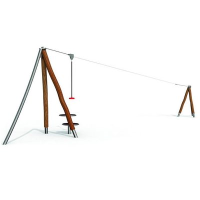 Nusileidimo lyno įrenginys pagamintas iš nerūdijančio plieno V2A ir akacijos medienos baltame fone